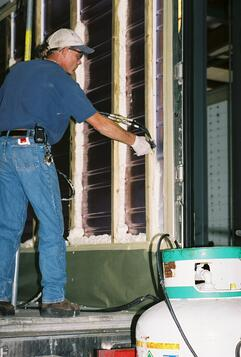 repairing reefer trailer insulation